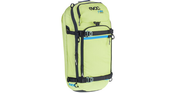 Evoc Zip-On ABS - Pro - Sac avalanche - 20l jaune/vert